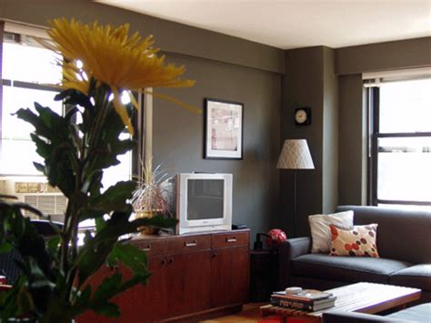 real homes green gray living room ralph paint flickr photo