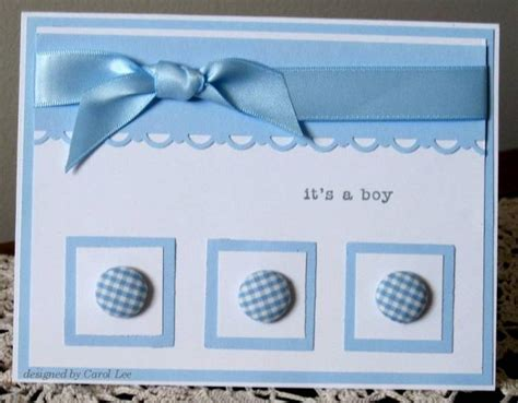 new baby cards to make baby boy ideas for cards