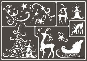 Weihnachtsdeko Fenster Schablonen by Adventsfenster Und Fensterbilder Zu Weihnachten Gestalten
