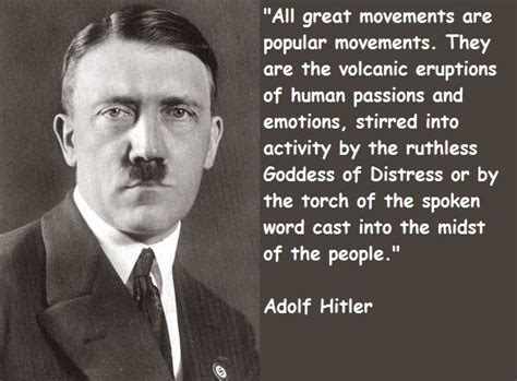 hitler quotes biography adolf hitler famous quotes quotesgram