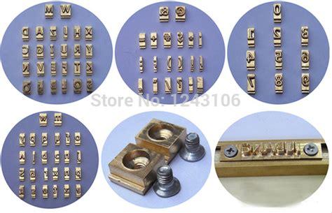 Spuit Set 52pcs By Cast t type letters cnc engraving mold foil