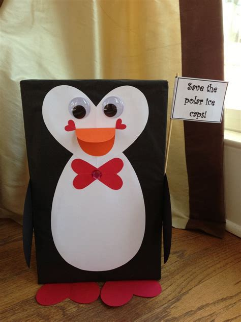 valentines boxes for school box penguin for school boxes