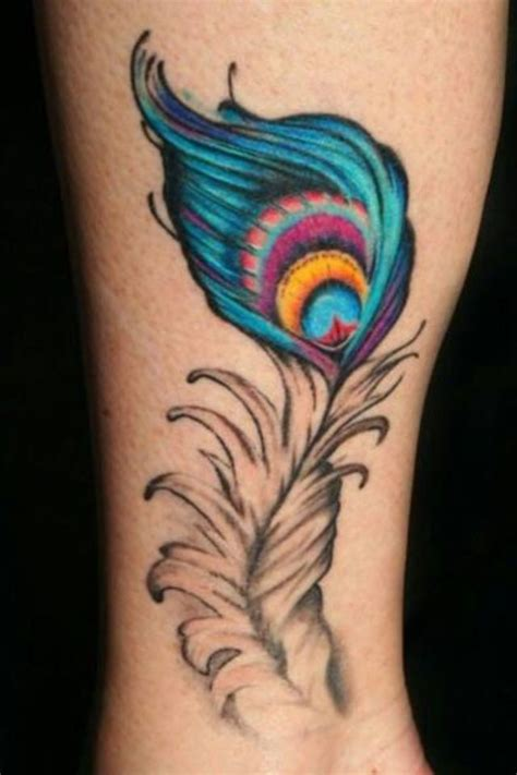 peacock feather tattoo designs wrist peacock feather ideas