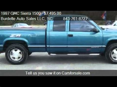 accident recorder 2005 gmc sierra 1500 free book repair manuals 1997 gmc sierra 1500 ext cab sportside 4wd for sale in mo youtube