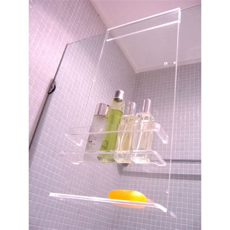 New Zero Over Screen Acrylic Shower Caddy For Bathroom Bathroom Shower Caddy Rust Proof