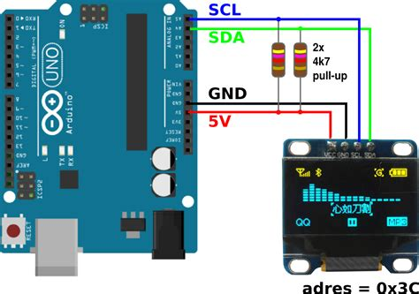 arduino pull up resistor i2c sda scl pull up resistor arduino 28 images adding pins to your arduino using i2c and a