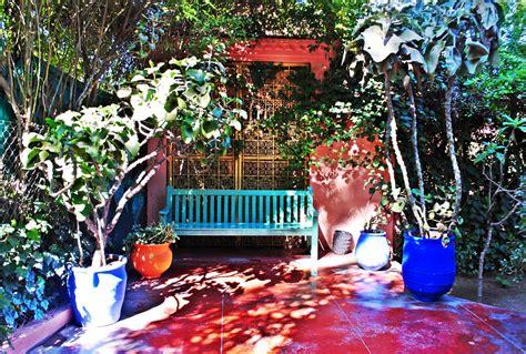 Backyard Guest House majorelle garden marrakech