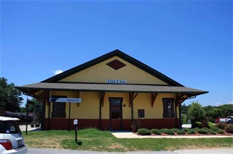 toccoa amtrak station toccoa ga stations depots