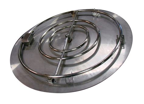 circular 36 quot ring 42 quot pan flat stainless steel