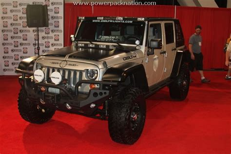 Decked Out Jeep Wrangler Decked Out Jeep At Sema 2010 Jeep