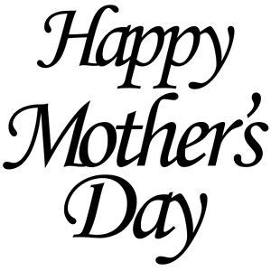 Ebay Wall Sticker happy mothers day glass sticker vinyl gold silver white