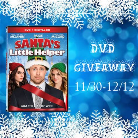 Dvd Giveaway - love mrs mommy santa s little helper dvd giveaway