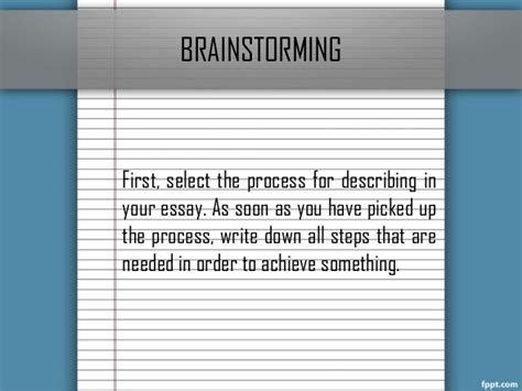 Brainstorming Techniques For Writing Essays by Essay Brainstorming Tips