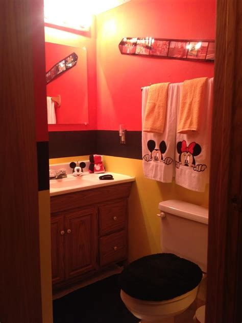 Mickey Mouse Bathroom Ideas by 93 Best Images About Mickey Mouse Bathroom On