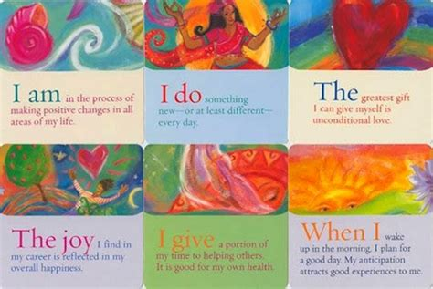thoughts cards a deck of 64 affirmations books affirmation cards 171 professions for peace