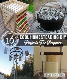 diy projects 16 cool homesteading diy projects for preppers