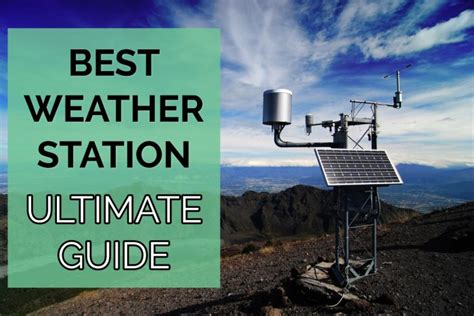 best home weather station 2017 picks for your needs