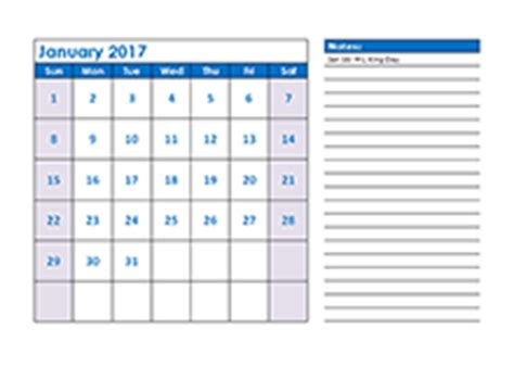 2017 calendar templates download 2017 monthly yearly