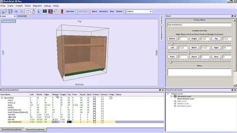 sketchlist  woodworking design software adding face