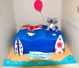 kuchen australien australian theme birthday cake australian theme cake