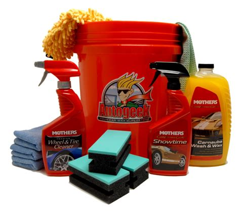 Kit Shoo Mobil Wash And Glow 800ml mothers california gold wash wax in a kit