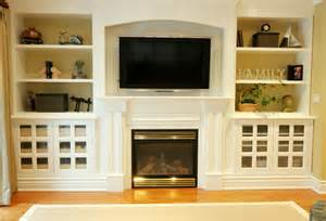 built in bookshelves around tv seaside interiors adding some flare to your fireplace