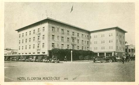 Post Office Merced Ca by Postcards From California
