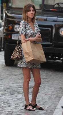 Kate Moss For Topshop Closer Look Floral Dress by Chung And Kate Moss For Topshop Pansy Floral Dress