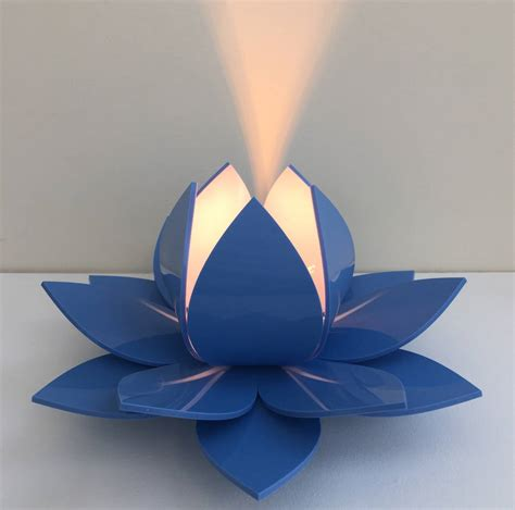 blue lotus flower high lotus flower table l bedside l by kirsty shaw