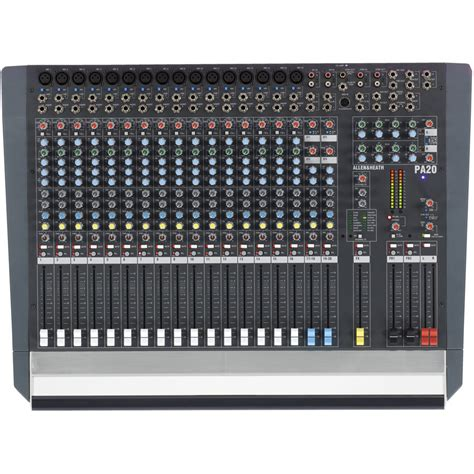 Mixer Audio Allen small format mixers church sound systems audio