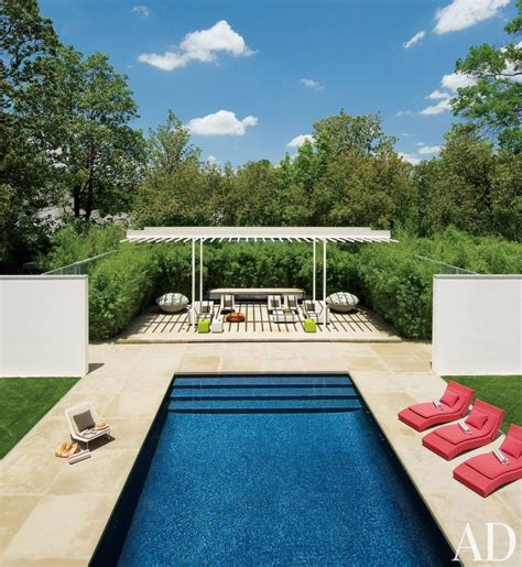 modern pool by cadwallader design ad designfile home decorating photos architectural digest