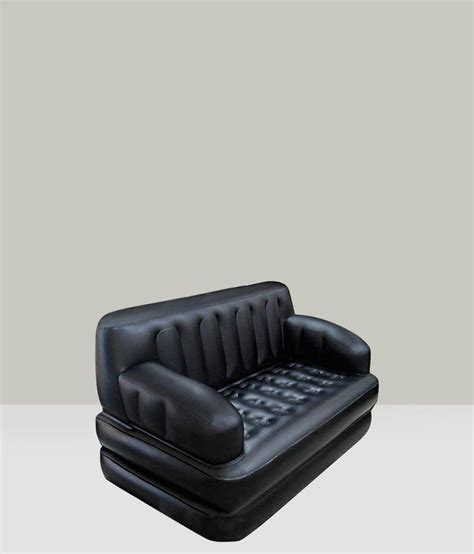 buy air sofa online bestway 5 in 1 air inflatable sofa in black buy online at
