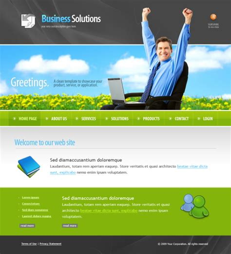 Marketing Website Template by 5982 Marketing Website Templates Dreamtemplate