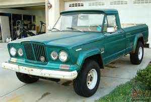 1967 Jeep Gladiator 1967 Jeep Gladiator Quot Sprucetip Green Quot 6 Great