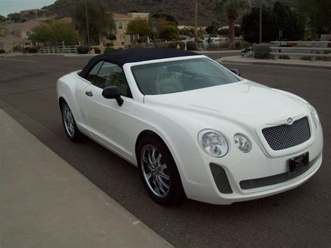 bentley sebring bentley continental gtc replica based on a chrysler sebring