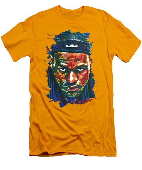 Lebron T Shirt the lebron stare t shirt for sale by arango
