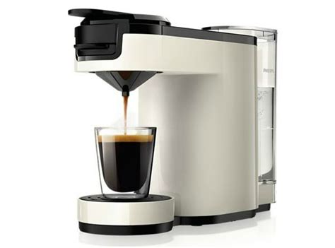 Philips SENSEO Up, one cup coffee machine made from recyclable plastic   HomeCrux