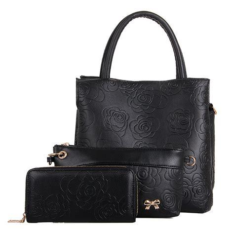Tas Handbag Bunga 2015 mode baru bunga timbul set tas gaya inggris tas tas tas kurir top menangani tas set