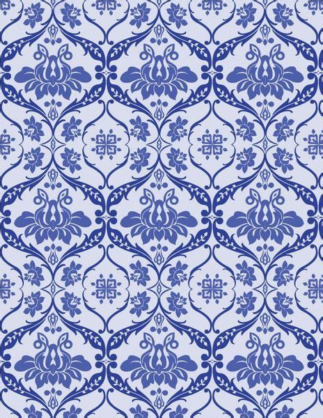 pattern victorian vector blue victorian pattern vector free vector graphics