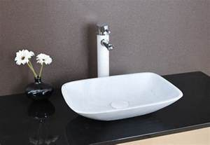 sink basins bathroom lima above counter white marble basin modern