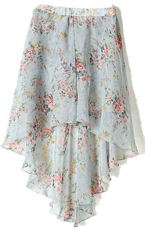 plaid curved hem skirt black gray olu2kjol grey small floral print dipped hem elastic waist skirt