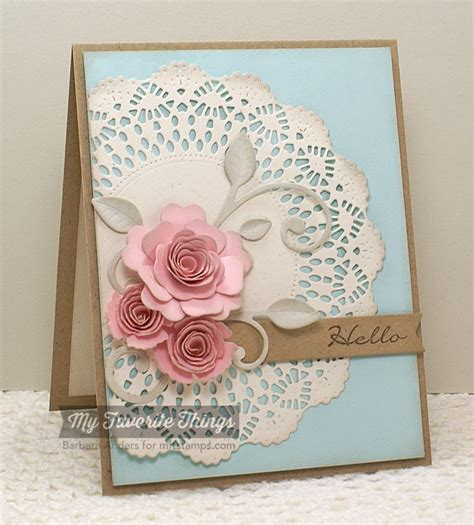 Paper Flowers For Greeting Cards - 202 best images about cards with dimensional flowers on