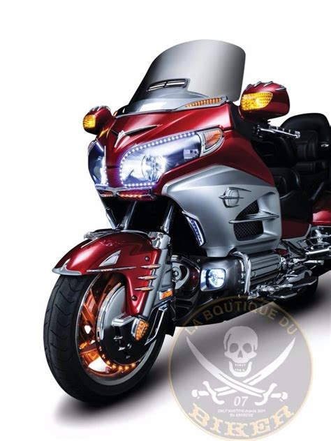 Emblem Honda Kw goldwing embleme de garde boue aigle chrome kuryakyn