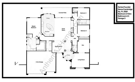 Hogg Palace Lofts Floor Plans country club floor plans anthem country club floor plans
