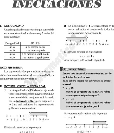 inecuaciones para primer grado primaria inecuaciones fraccionarias y de grado superior ejemplos