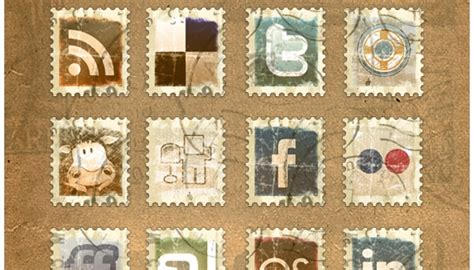 Home Design Software Free Download 2010 by Vintage Stamps Icons Icon Fever
