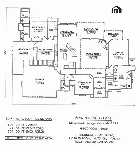 4 bedroom with bonus room house plans fresh 4 bedroom house plans with bonus rooms house plan
