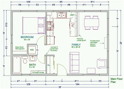 small guest house floor plans guest house plans small cottage house plans