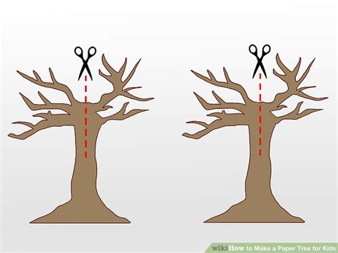How To Make A Paper Tree For A Classroom - 5 easy ways to make a paper tree for wikihow