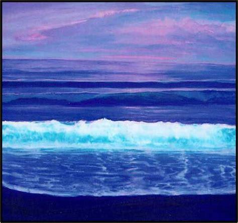 phosphorus color outer banks surf painting phosphorus sea jerry dorman